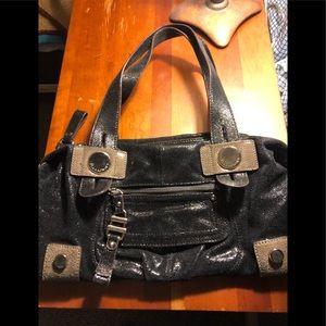 B Makowsky leather bag